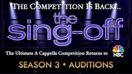 Auditions and tryout for NBC Sing Off