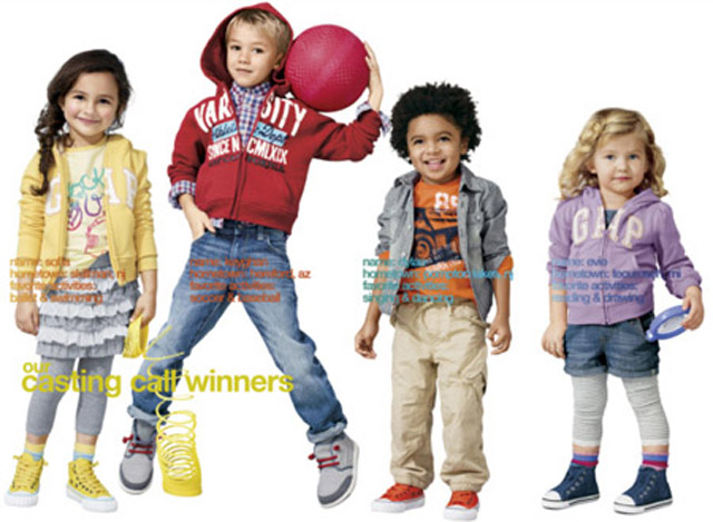 Gap kids model contest 2013