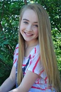 Sabrina as Maya