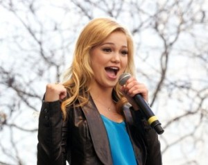 Olivia Holt new disney casting