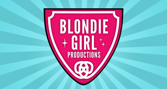 Blondie Girl Productions Logo