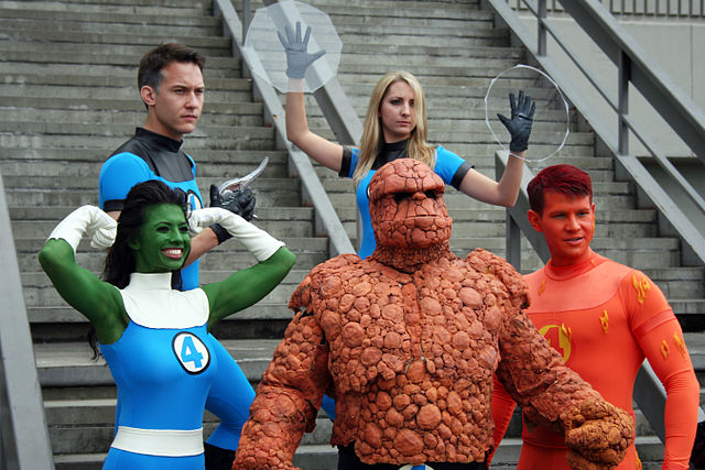 Not the new fantastic 4 cast