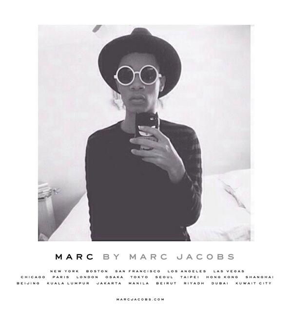 Marc Jacobs online casting call for models