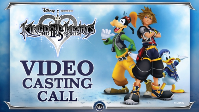 Disney Kingdom of Hearts Casting Call