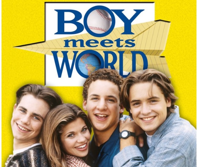 Cory and Topanga in Boy Meets World