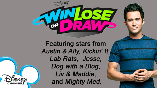 Get on Disney Win Lose or Draw